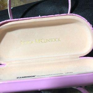 9129cd3158 Jessica McClintock Accessories - Jessica McClintock Glasses Case w Strap